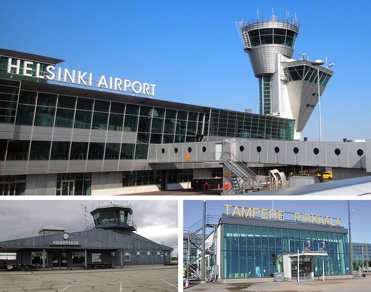 Finlandia lotniska porty lotnicze ciekawostki