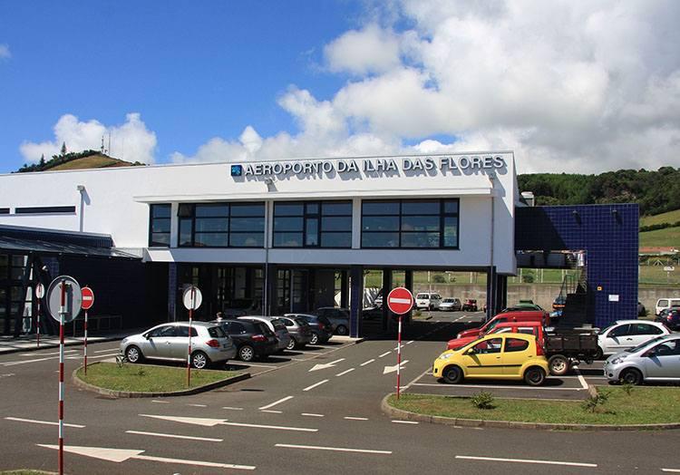 Flores Azory Portugalia lotniska