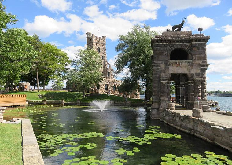 wyspa Heart Island Nowy Jork zamek miłość ciekawostki