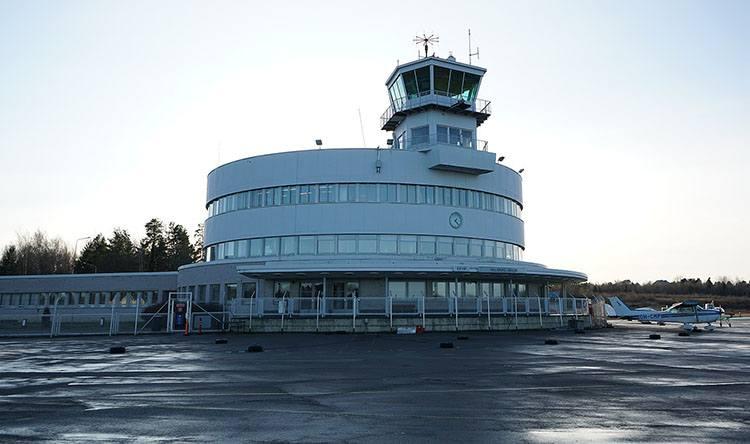 Helsinki Malmi Finlandia lotniska porty lotnicze