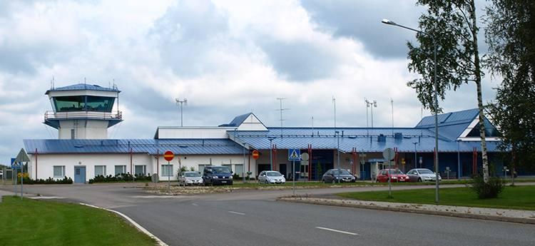 Kajaani Finlandia lotniska porty lotnicze