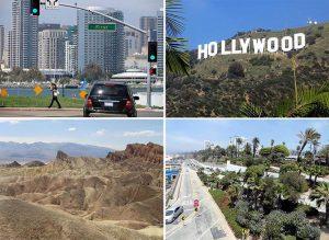 stan Kalifornia ciekawostki atrakcje USA największe miasta