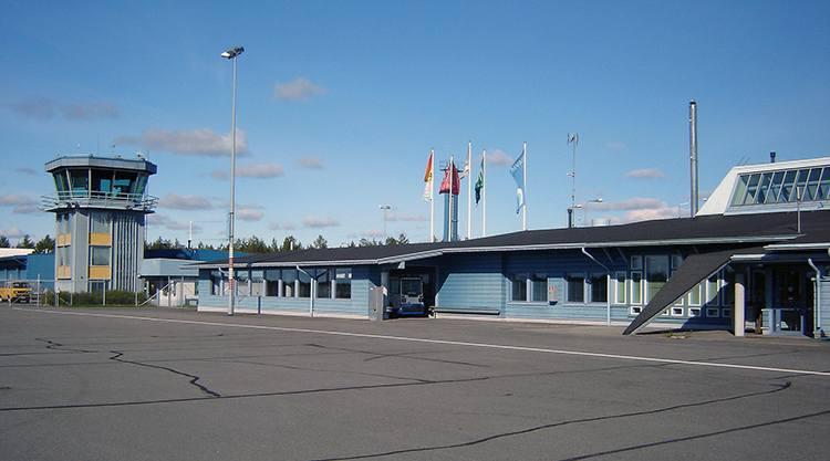 Kuusamo Finlandia lotniska porty lotnicze