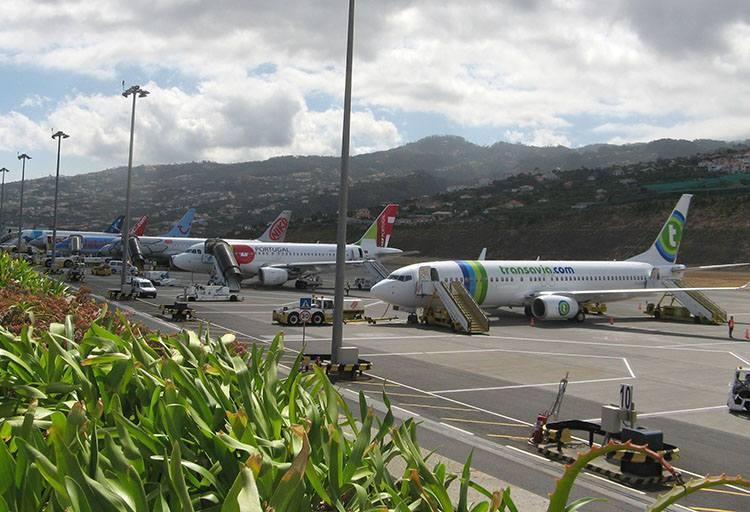 wyspa Madera lotnisko Portugalia lotniska