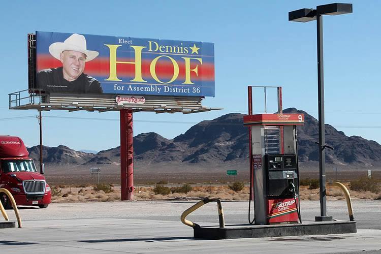 Nevada USA stacje paliw benzynowe ciekawostki historia benzyna