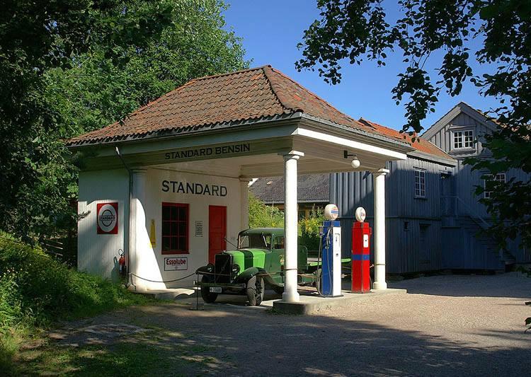 Oslo stacje paliw benzynowe ciekawostki historia benzyna