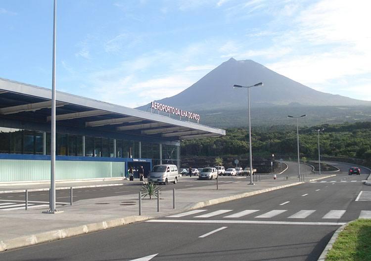 lotnisko Pico lotniska Portugalia