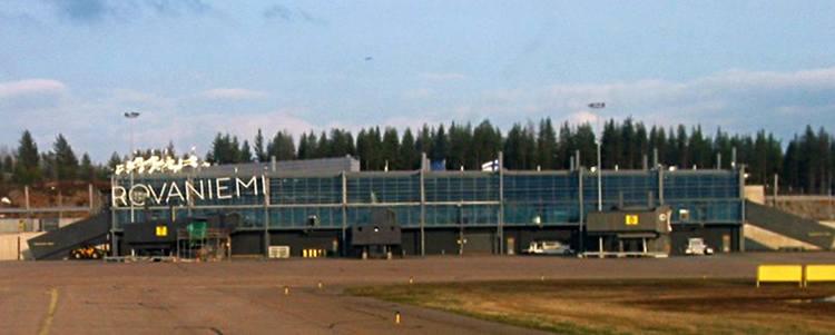 Rovaniemi Finlandia lotniska porty lotnicze