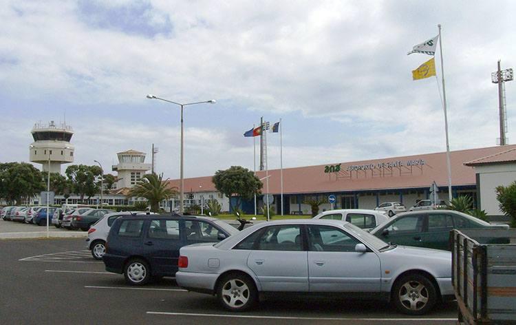 Santa Maria Azory lotniska Portugalia
