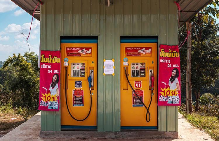 Tajlandia stacje paliw benzynowe ciekawostki historia benzyna