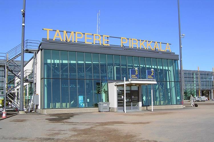 Tampere Finlandia lotniska porty lotnicze