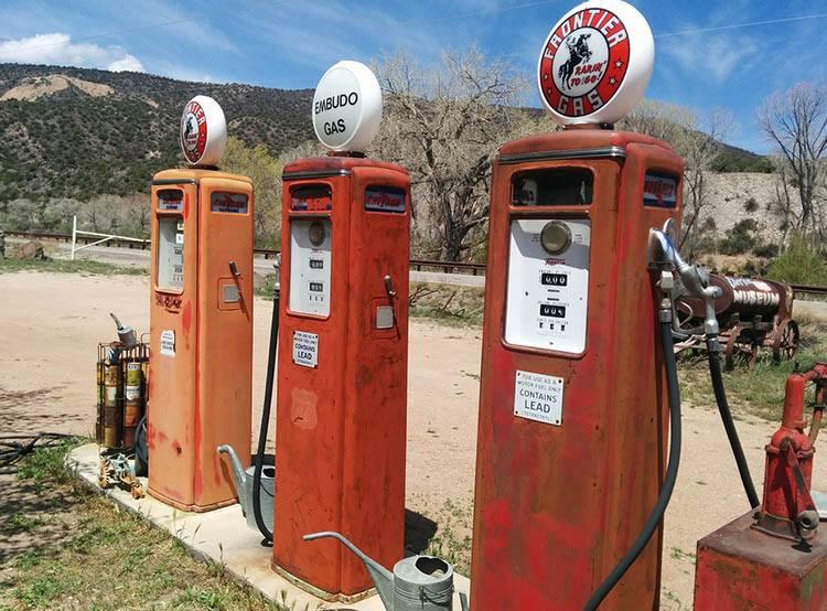 USA stacje paliw benzynowe ciekawostki historia benzyna