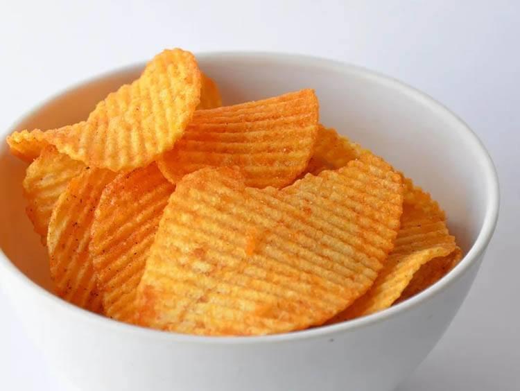 chipsy ciekawostki czipsy historia przekąski ziemniaki