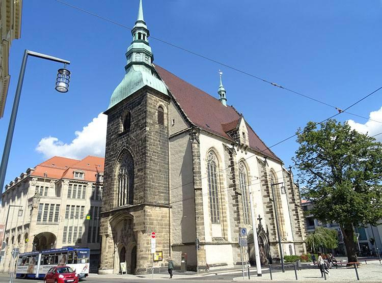 Frauenkirche kościół Goerlitz ciekawostki zabytki atrakcje