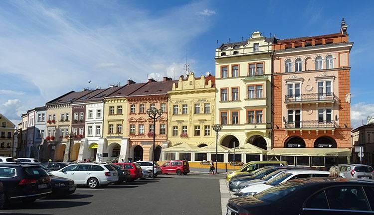 kamienice rynek Hradec Kralove Czechy ciekawostki atrakcje zabytki
