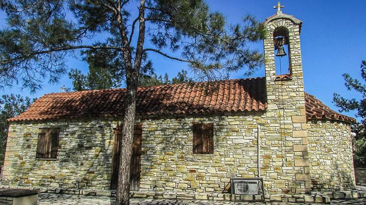 kaplica Larnaka Cypr ciekawostki lotnisko lotniska