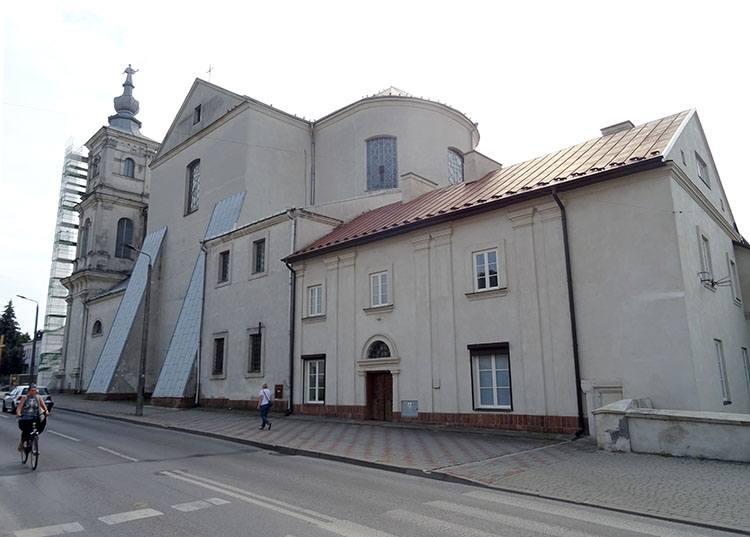 kościół Franciszka Ksawerego klasztor jezuitów Krasnystaw ciekawostki atrakcje zabytki