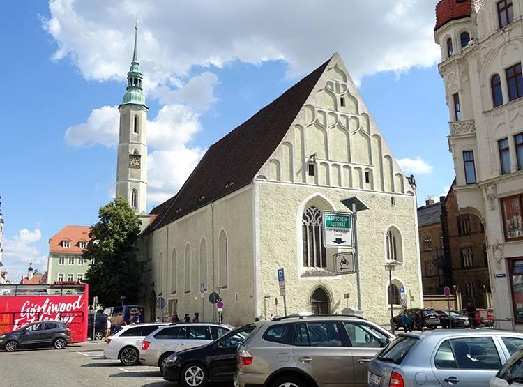 kościół stare miasto  Goerlitz ciekawostki zabytki atrakcje