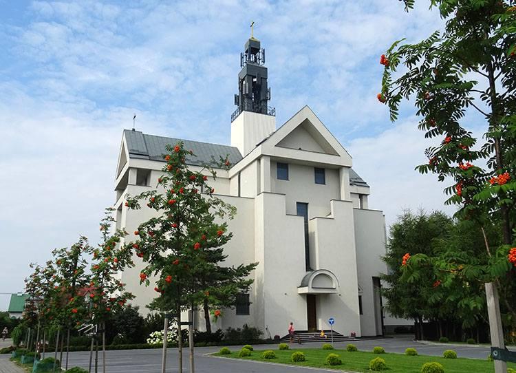 kościół ul. św. Jana Pawła II Krasnystaw ciekawostki atrakcje zabytki
