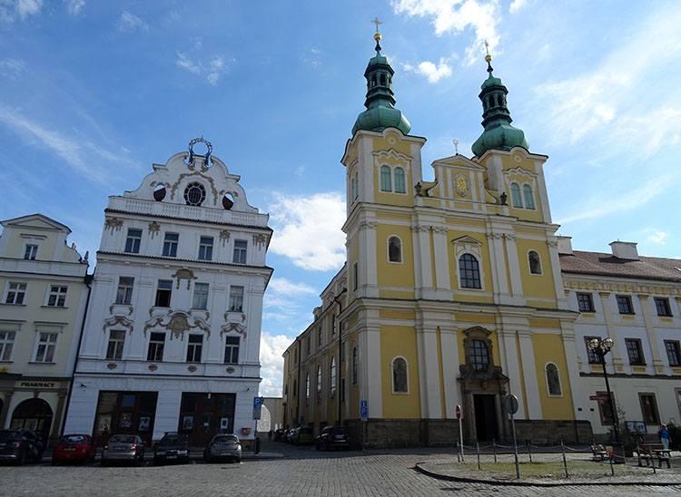 kościół Wniebowzięcia Hradec Kralove Czechy ciekawostki atrakcje zabytki