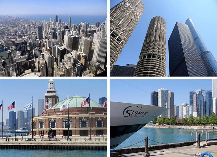 miasto Chicago Illinois USA ciekawostki atrakcje