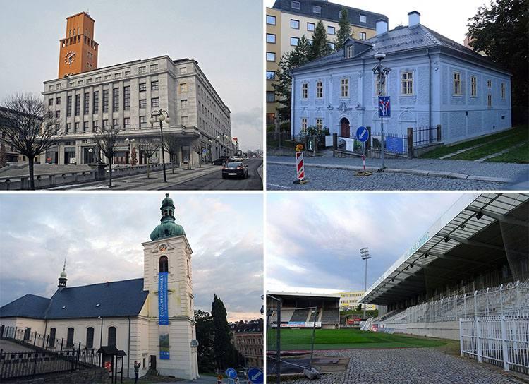 miasto Jablonec nad Nysą Nisou Czechy ciekawostki