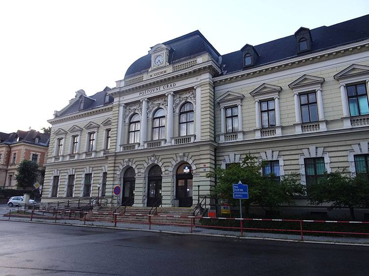 poczta Jablonec nad Nysą Nisou Czechy ciekawostki zabytki
