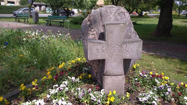 pomnik bitwa 1920 Radzymin ciekawostki atrakcje zabytki