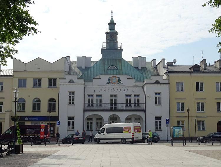 ratusz magistrat rynek Krasnystaw ciekawostki atrakcje zabytki