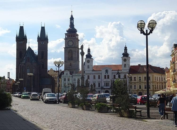 rynek Hradec Kralove Czechy ciekawostki atrakcje zabytki