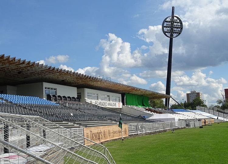 stadion Hradec Kralove Czechy ciekawostki atrakcje zabytki