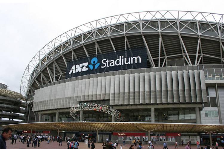 ANZ Stadium stadion Sydney Australia największe stadiony świata piłka nożna