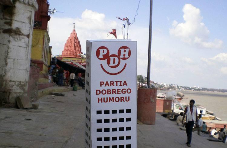 Dasaswemedh ghat Waranasi Uttar Pradesh Indie ciekawostki