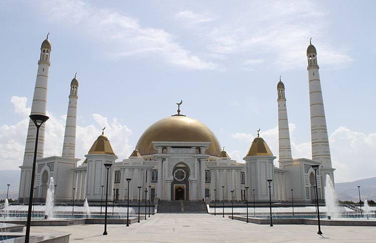 Gupjak Turkmenistan meczet największe meczety ciekawostki