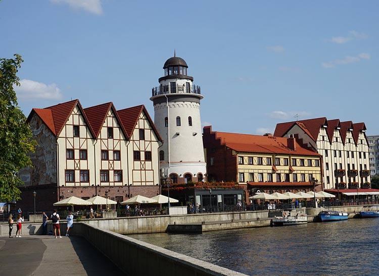 Kaliningrad obwód kaliningradzki ciekawostki