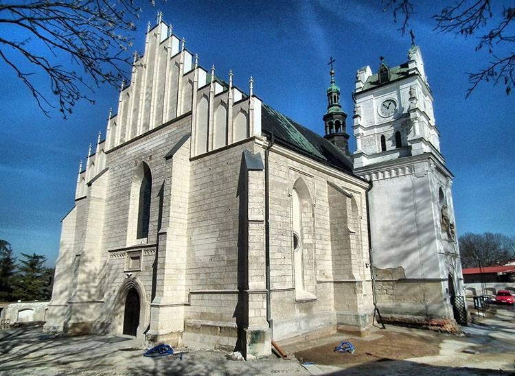 kościół Wniebowzięcia NMP Kraśnik ciekawostki atrakcje zabytki