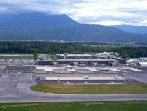 lotnisko Lublana Ljubljana airport porty lotnicze lotniska Słowenia ciekawostki
