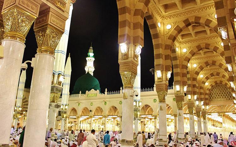 Meczet Proroka Medyna Arabia Saudyjska największe meczety ciekawostki