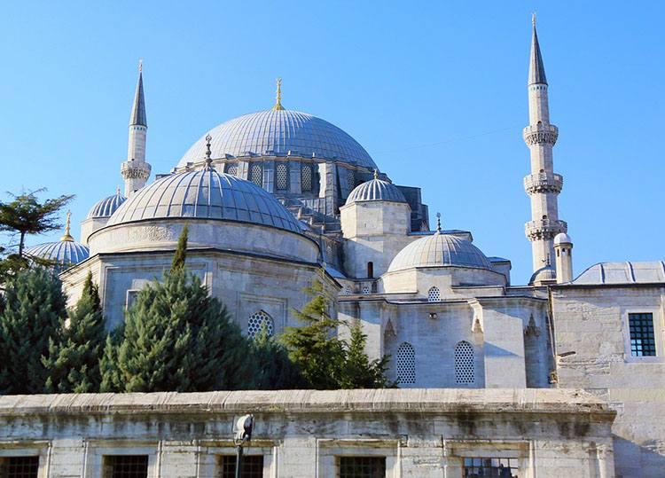 Blue Mosque Meczet Sulejmana Stambuł Turcja meczety ciekawostki