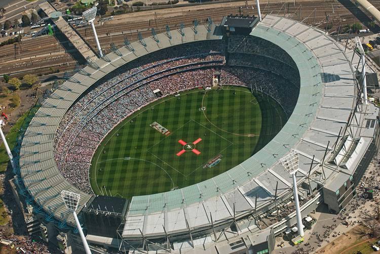 Melbourne Cricket Ground stadion Australia największe stadiony świata