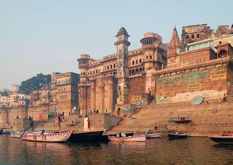 Munshi ghat Waranasi Uttar Pradesh Indie ciekawostki