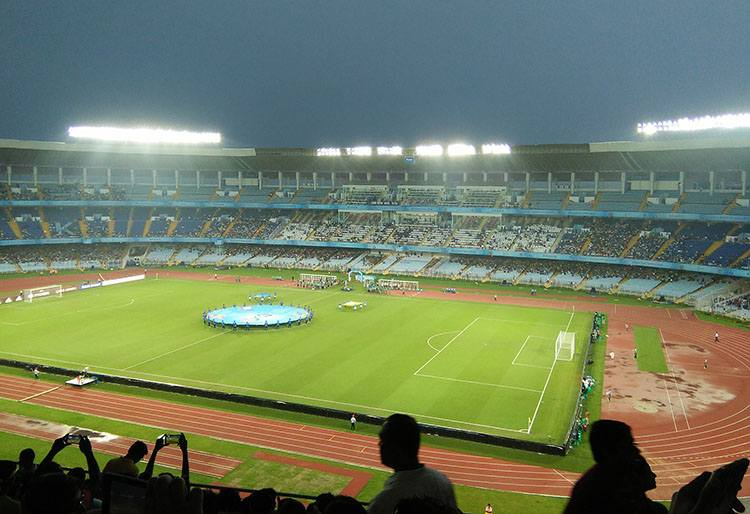 Salt Lake Stadium Kolkata Indie piłka nożna największe stadiony świata