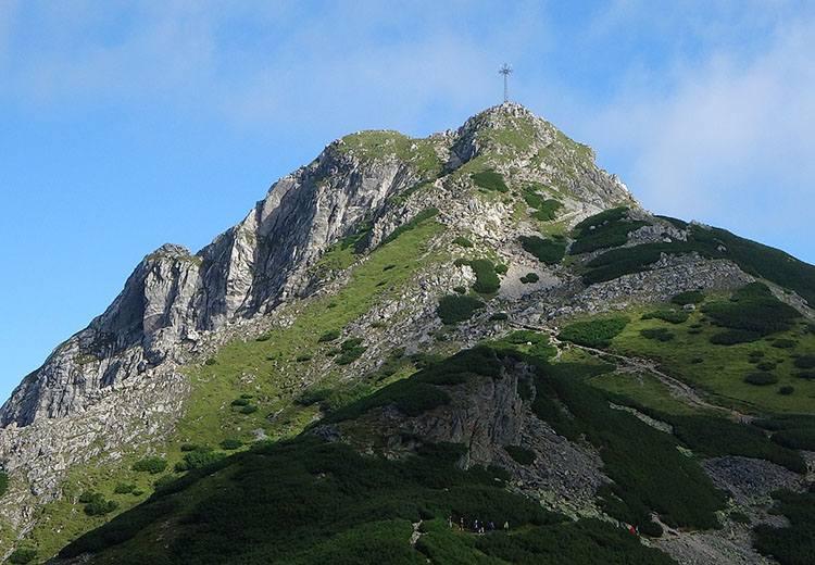 góra Giewont ciekawostki Tatry