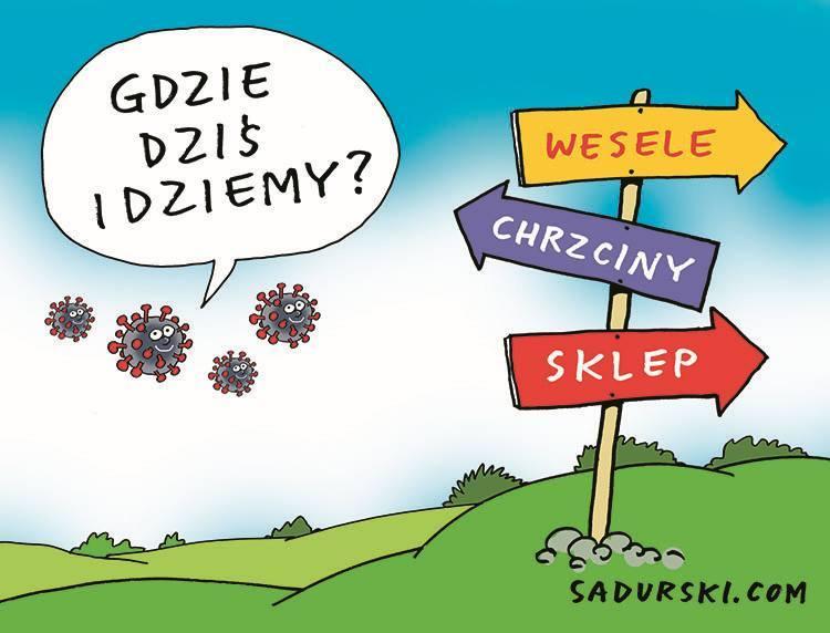 koronawirus dowcipy covid-19 humor pandemia kawały maseczki
