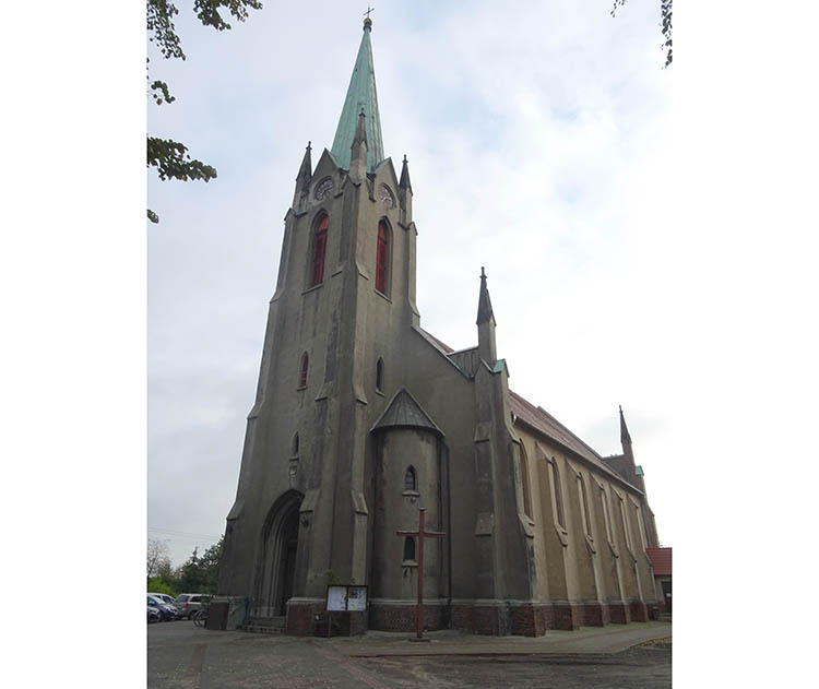 kościół Bojanowo wielkopolskie miasto ciekawostki informacje