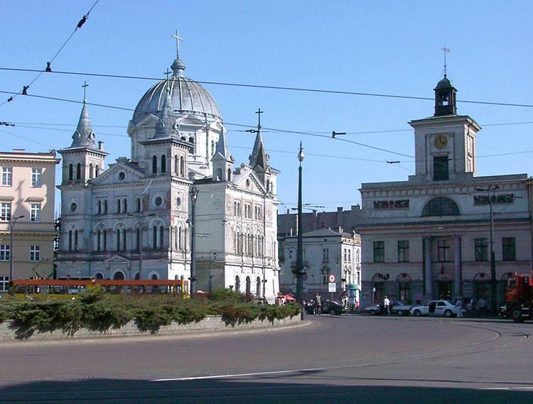 kościół Zesłania Ducha Świętego Archiwum Państwowe Łódź ciekawostki atrakcje