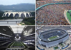 największe piłkarskie stadiony świata piłka nożna