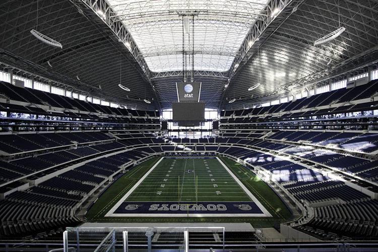 stadion AT&T Cowboys Stadium Arlington największe stadiony świata piłka nożna