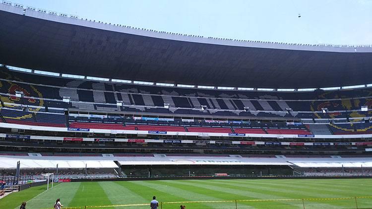 stadion Estadio Azteca Maxico City największe stadiony świata piłka nożna