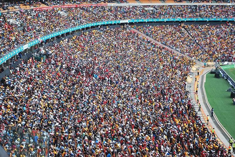 FNB Stadium Johannesburg RPA stadion największe stadiony świata piłka nożna